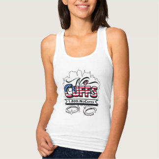 1.800.NoCuffs Fourth of July Tank Top