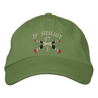 1-87th Inf. TF Summit Iraq Crossed Rifles Hat