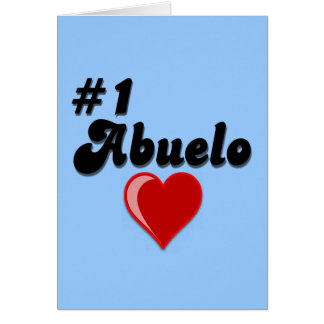 1 Abuelo Grandparents Day Gifts Cards