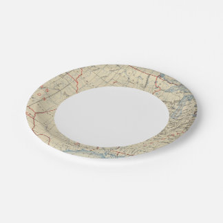 1 Accessions of territory 2 7 Inch Paper Plate