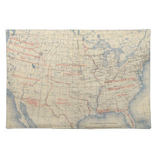 1 Accessions of territory Placemat