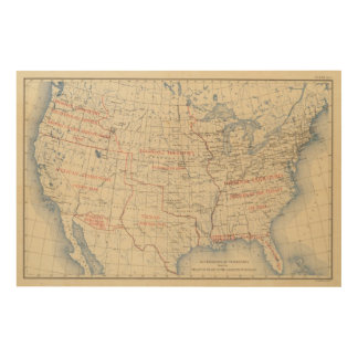1 Accessions of territory Wood Wall Art