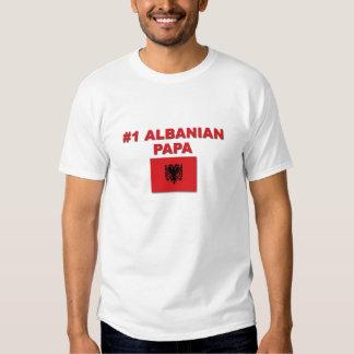 #1 Albanian Papa T Shirt