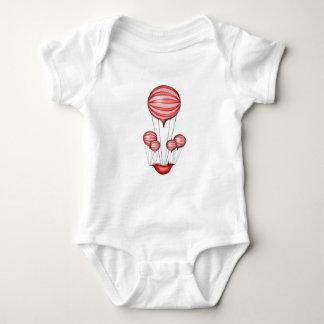 1) alone - tony fernandes baby bodysuit