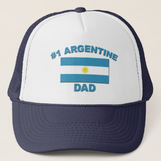 #1 Argentine Dad Trucker Hat