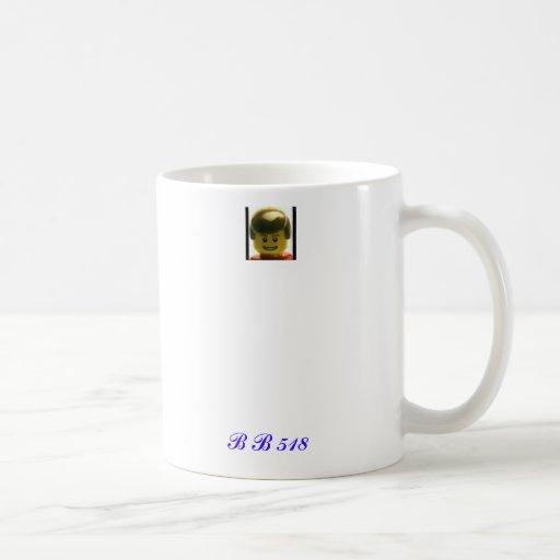 1, B B 518 COFFEE MUGS