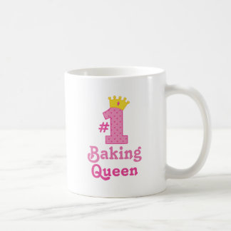 #1 Baking Queen Coffee Mug