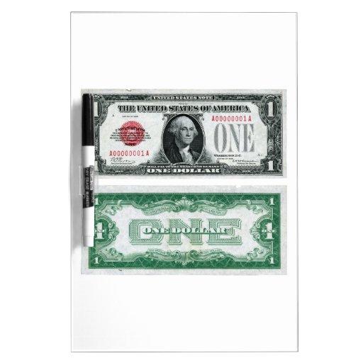 $1 Banknote Legal Tender Series of 1928 Dry Erase Board