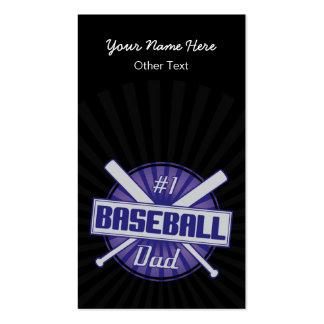 1 Baseball Dad Customized Baseball Cards Business Card Templates