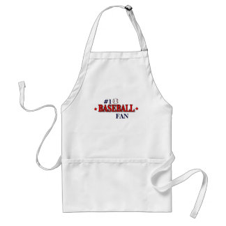 #1 BASEBALL FAN STANDARD APRON