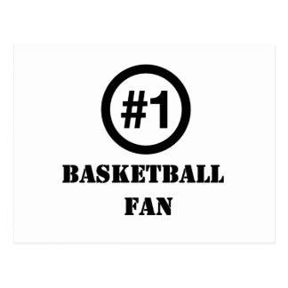 # 1 Basketball Fan Postcard