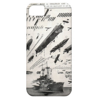 1 Battleship as compared to Aircraft iPhone 5/5S Case