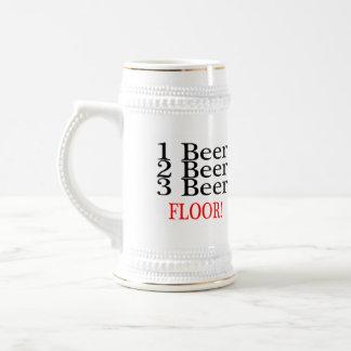 1 Beer 2 Beer 3 Beer FLOOR Beer Stein