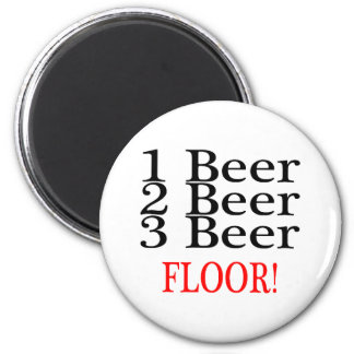 1 Beer 2 Beer 3 Beer FLOOR Magnet