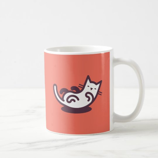 #1 Belly Tickler (orange) Coffee Mug