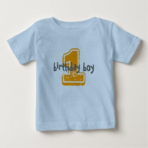 1, birthday boy tee shirt