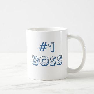 #1 BOSS COFFEE MUG
