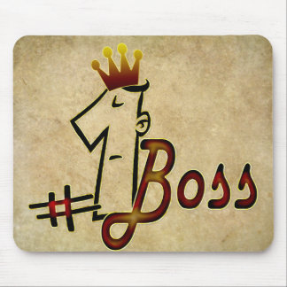 #1 boss mouse pads