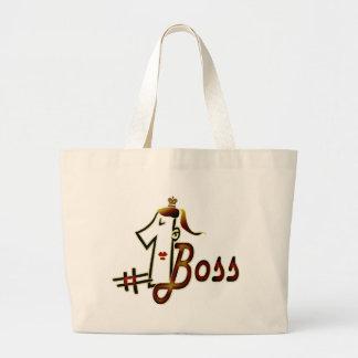 #1 boss canvas bag
