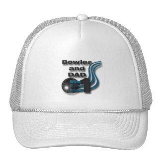 #1 Bowler and DAD Cap