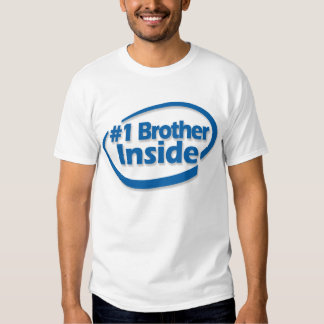 #1 Brother Inside Shirt