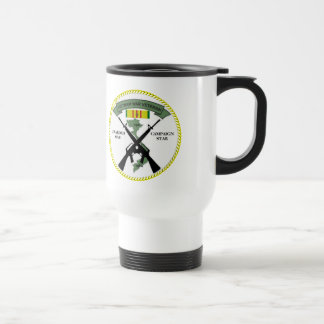 1 CAMPAIGN STAR VIETNAM WAR VETERAN COFFEE MUGS