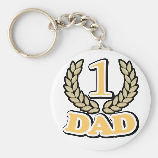 #1 CHAMPION Dad keychain