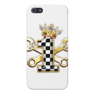 1 checkered flag number iPhone 5 cases