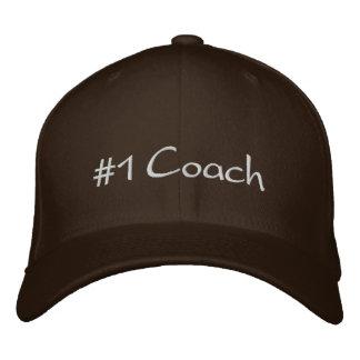 #1 Coach Embroidered Baseball Cap
