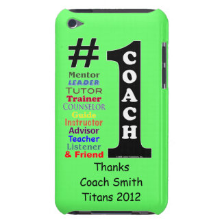 1 Coach Personalized iPod Touch Case