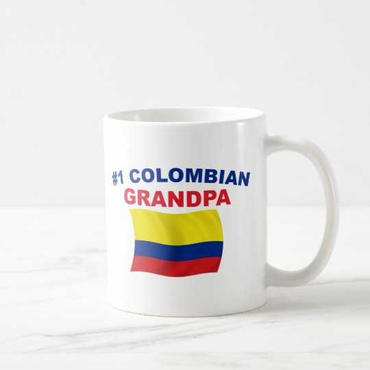 #1 Colombian Grandpa Coffee Mug