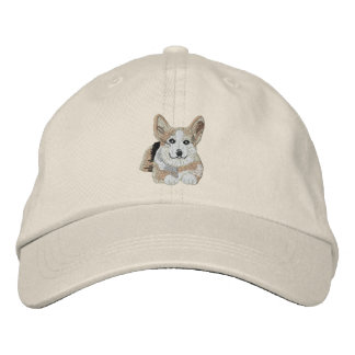 1 cool Corgi Embroidered Hat