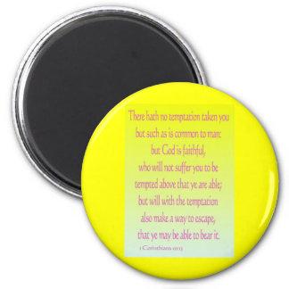 1 Corinthians 10 13 Magnets