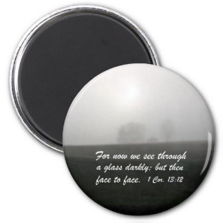1 Corinthians 13:12 Refrigerator Magnets