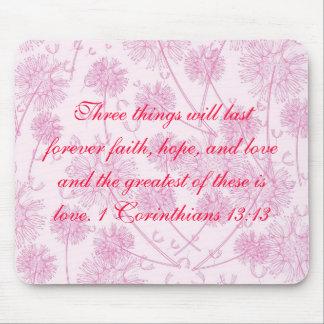 1 Corinthians 13:13 Mouse Pad