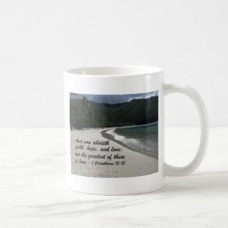 1 Corinthians 13:13 Coffee Mugs