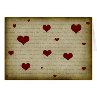 1 Corinthians 13 4-7 2 Greeting Card