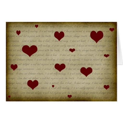 1 Corinthians 13:4-7 #2 Greeting Card