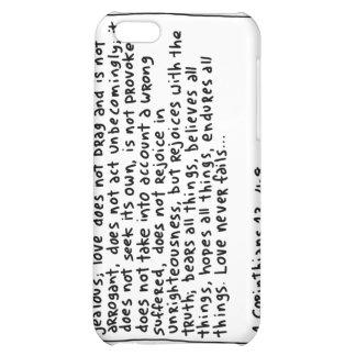 1 Corinthians 13 4-8 iPhone 5C Covers