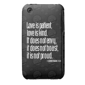 1 Corinthians 13:4 iPhone 3G/3GS Case iPhone 3 Cover