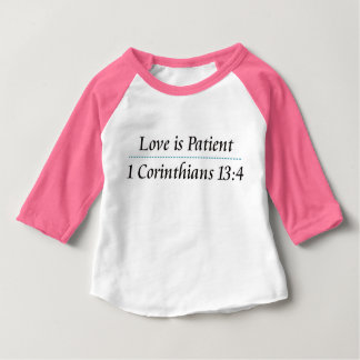 1 Corinthians 13:4 T-Shirt for Kids