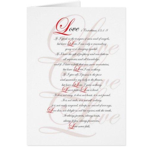 1 Corinthians 13 Cards