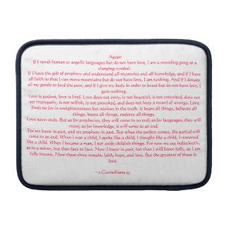 1 Corinthians 13 MacBook Sleeve