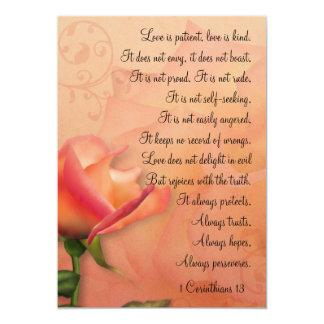 1 Corinthians 13 Love is Patient Mini Prints Announcements