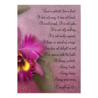 1 Corinthians 13 Love is Patient Mini Prints Invitations