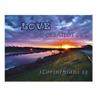 1 Corinthians 13 Postcard