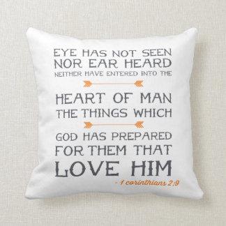 1 Corinthians 2:9 | Bible Verse Cushion