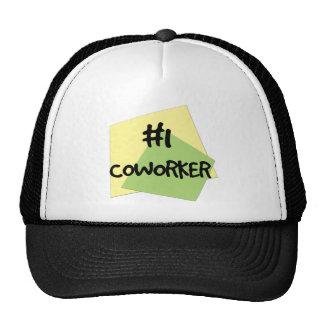 #1 Coworker Cap