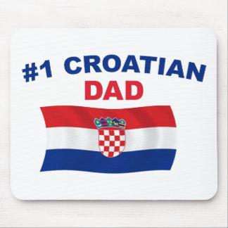 #1 Croatian Dad Mouse Pad