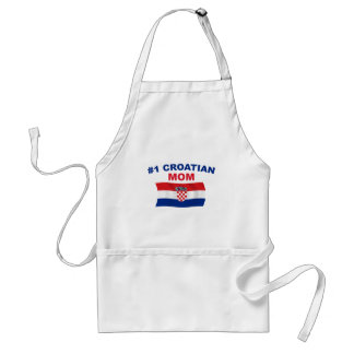 #1 Croatian Mom Standard Apron
